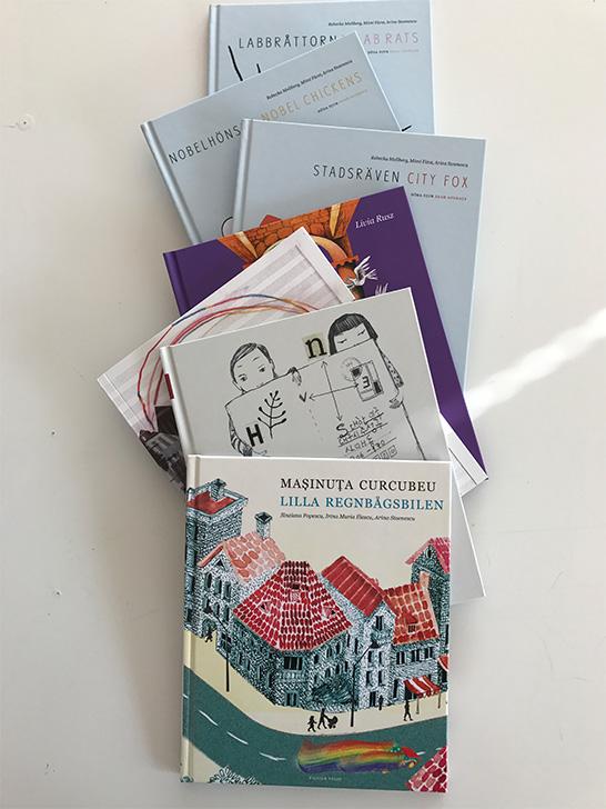 Cărțile trebuie promovate activ, cu lansări, lecturi și ateliere pentru copii dar și o permanentă discuție despre cartea ilustrată pentru copii în spațiul public, massmedia, școli biblioteci și nu în ultimul rând în politică.